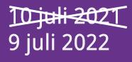 9 juli 2022